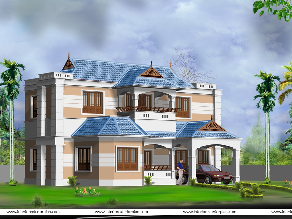 3d exterior home design wallpapers