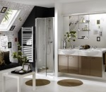 Creative Bathroom Concept with Simplistic Appeal