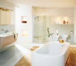 Modern Bathroom Interior in Multiple Finishes