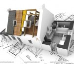Complementing interior and exterior design
