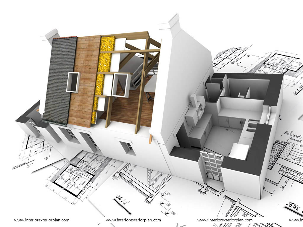 Interior exterior plan complementing interior and for House plans with photos of interior and exterior
