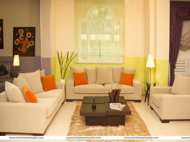 Artistic Living Room Design