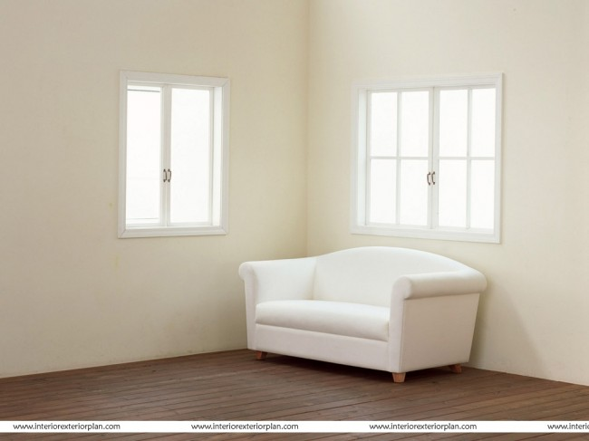 A Comfortable Sofa implemented in the Bedroom Design