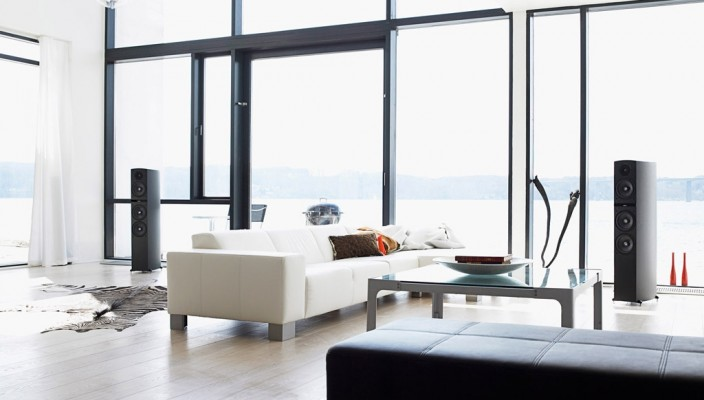 Glass Living Room Design
