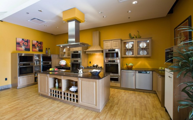 Kitchen Concept with Varied Finish and Styles