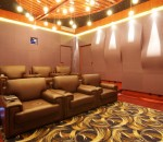 Conceptual Living Room Design with Wallpapers