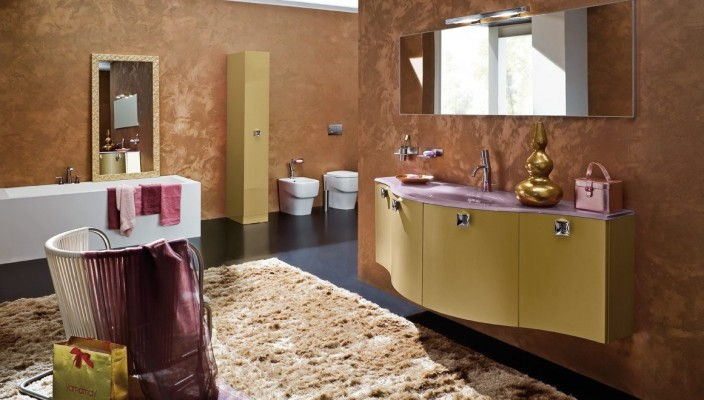 Luxury Bathroom Concept for Contemporary Interiors