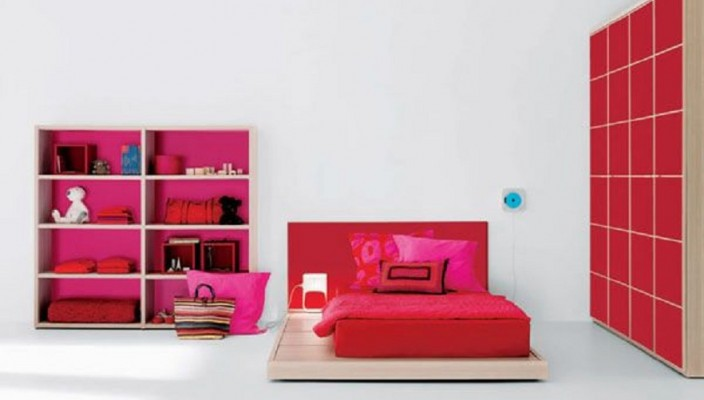 Delightful Bedroom Design for a Teen Girl