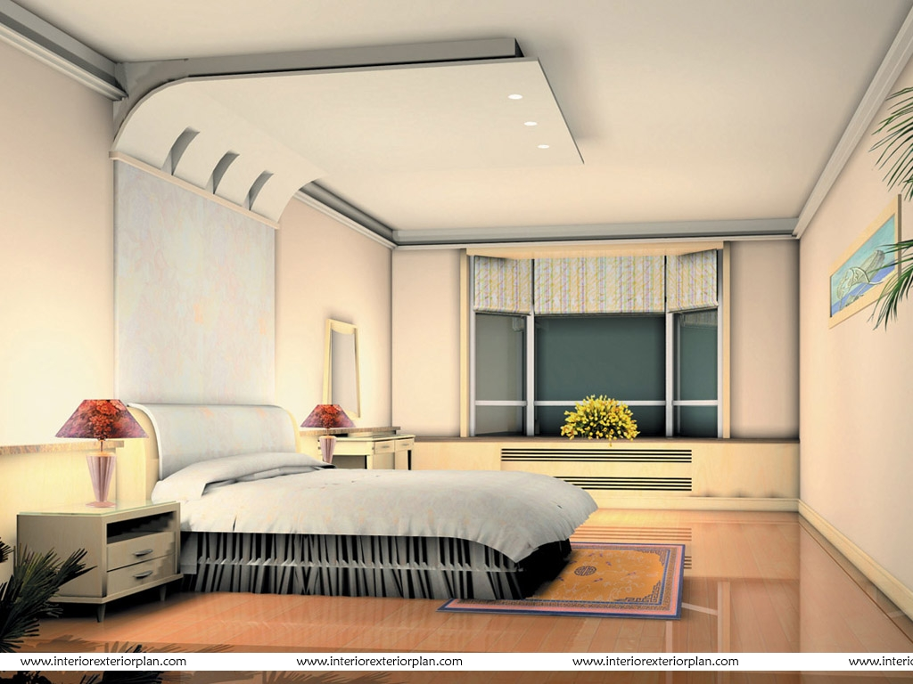Interior exterior plan a well worked out bedroom - Interior designbedroom in ...