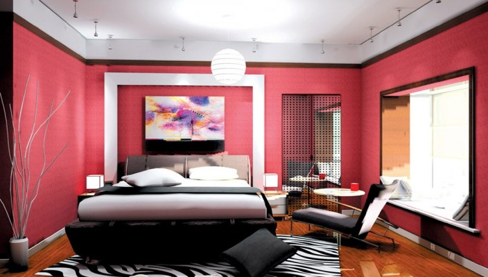 Awesomely trendy and funky room
