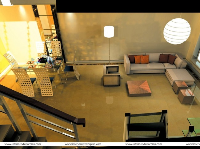Living Room Design for a Young Executive