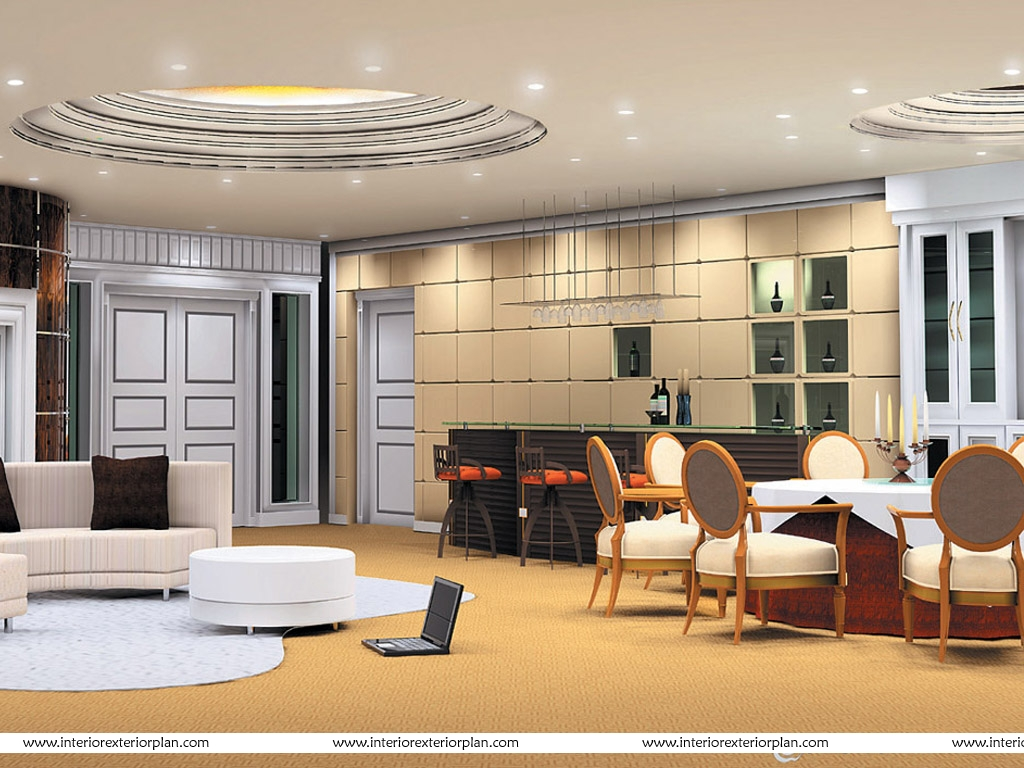 Circular - Square Dining Room Design