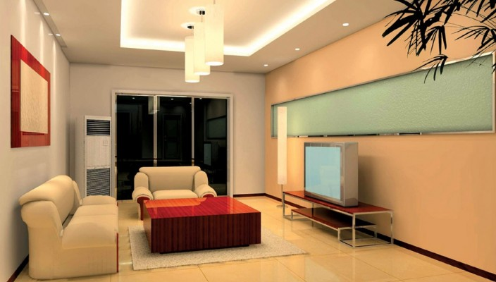 Smoky Living Room Design