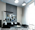 Modern Living Room Design - Different Angle