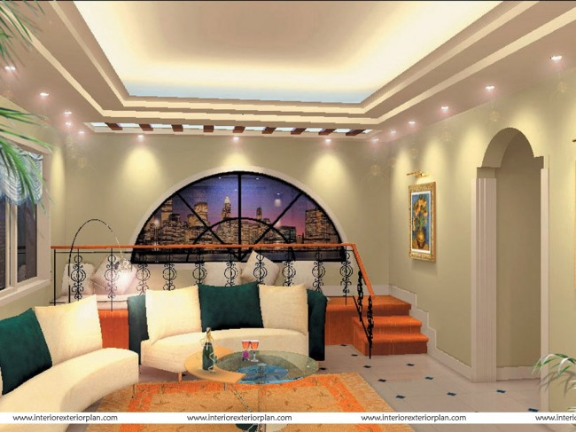Mesmerizing new age design for living room