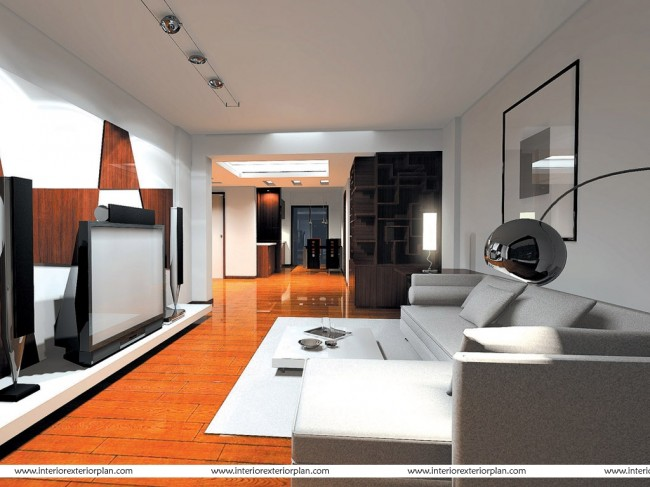 Life-size Living Room
