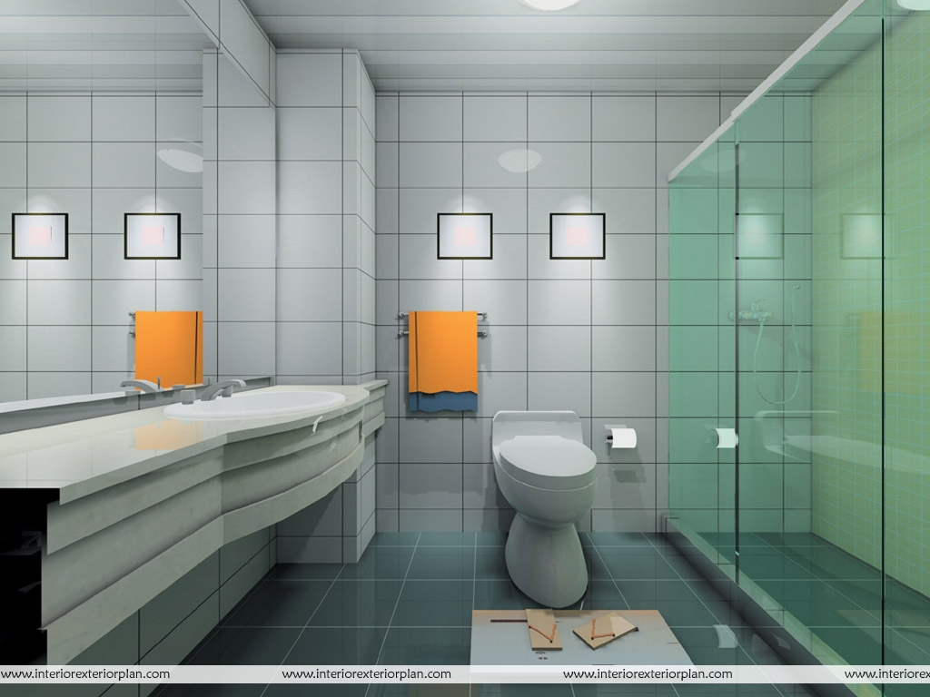 Interior exterior plan delighting and refreshing for Bathroom designs pictures 2010
