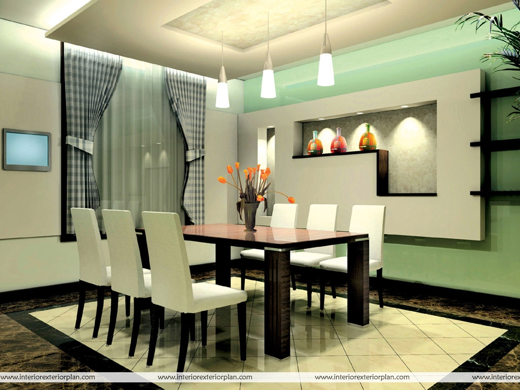 Interior Exterior Plan Dining in