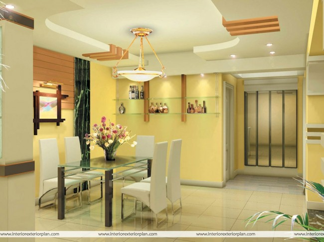 Impress your guests with modern look of your dining room