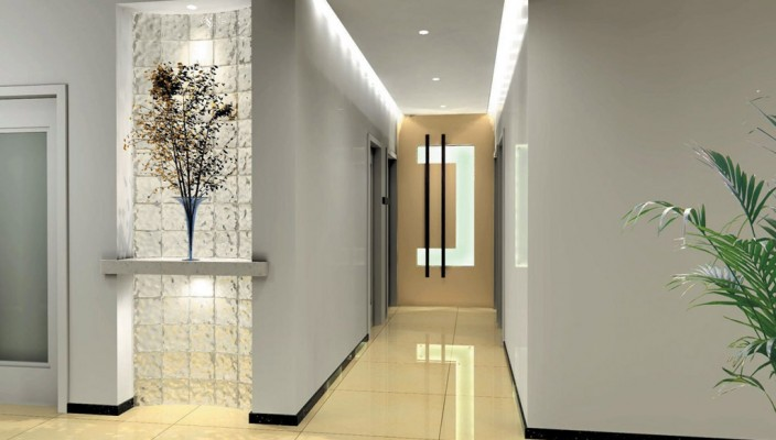 Interior exterior plan corridor type house interior design for Interior design house outside