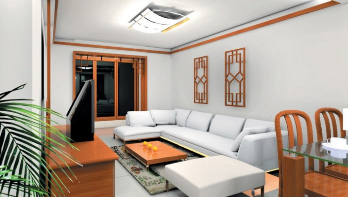 Impress your guests with living room of great ambience