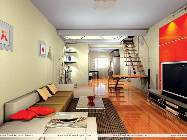 Comfortable and leisurely living room design