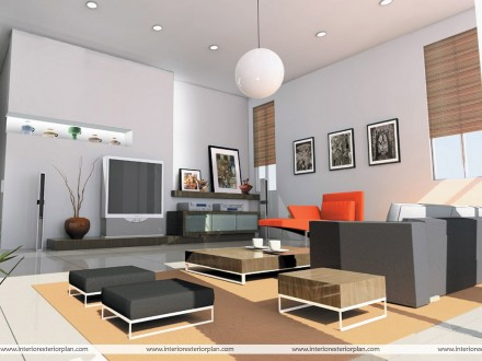 Snowcem Paints: Living Room Interior - DRAWING ROOM DESIGNS