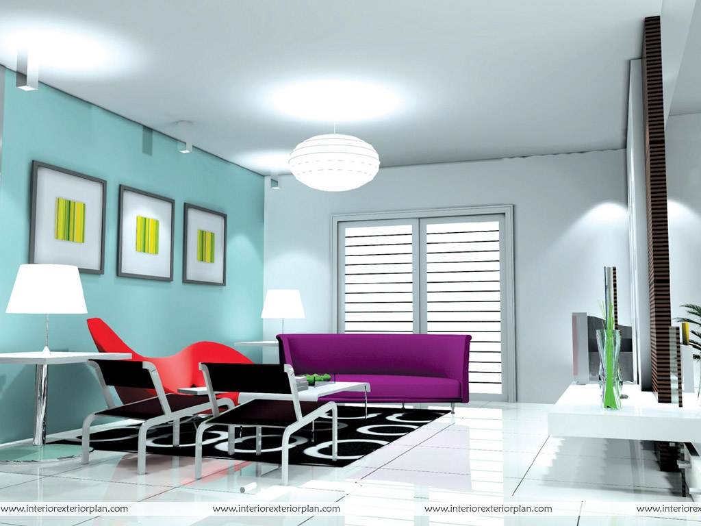 Interior Exterior Plan The Essence Of The Colour Combination