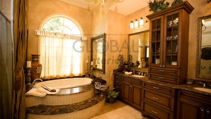 A classical bathroom