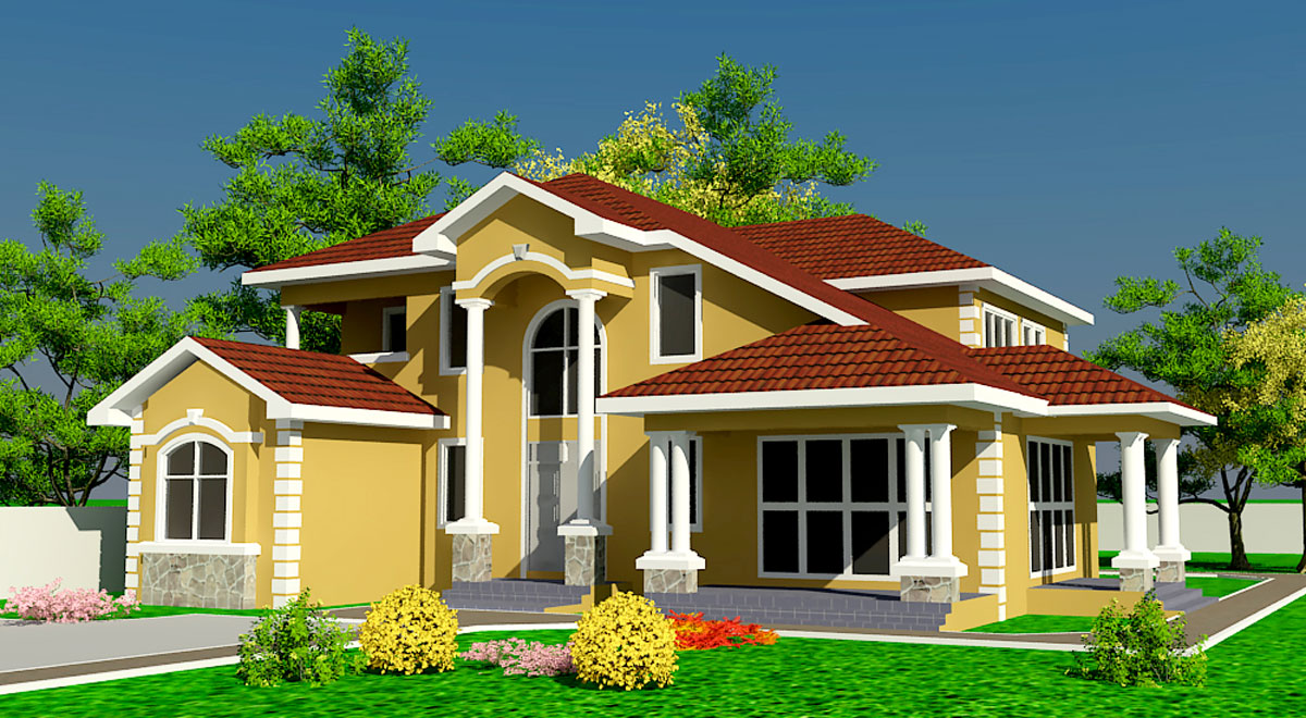 Interior exterior plan the perfect home for your family for Dream home house plans