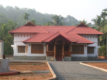 Home Designs - Contemporary Kerala style house plans