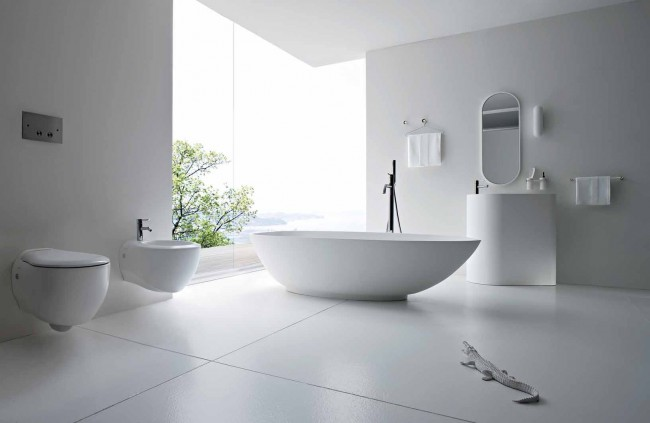 The Beauty of White Fittings