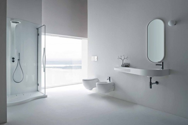 An elegant and modern bathroom