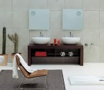 Simple yet elegant bathroom