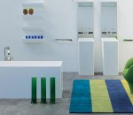 Colorful and happy bathroom
