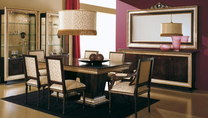 Use dark wall shade for adding a formal touch