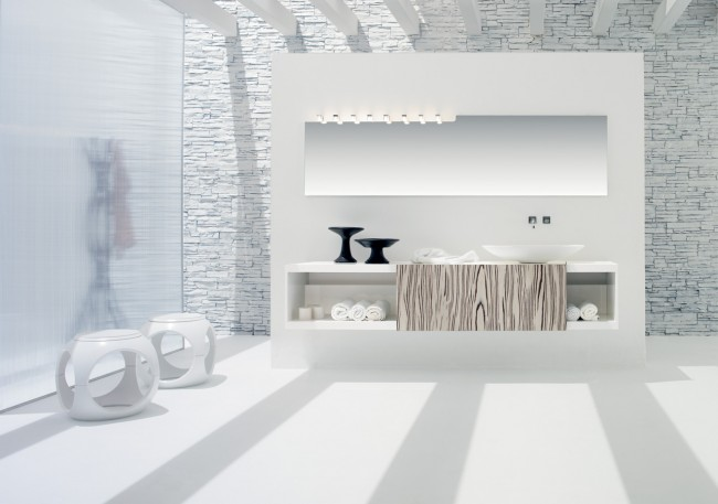 Luxury in simple white