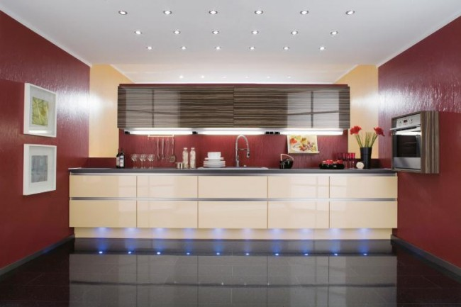Scarlet bar style kitchen