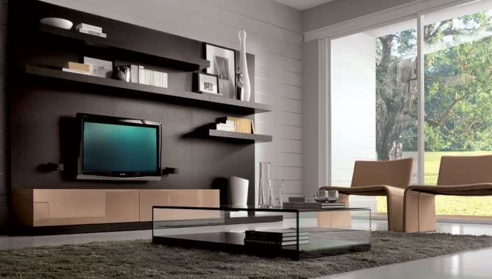 Living Room With A Glass Wall Part 84