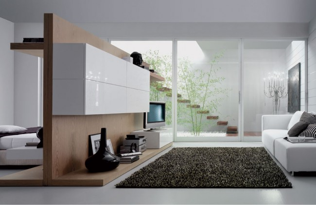 Small and stylish living room
