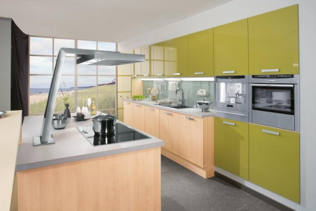 Compact Modern Kitchen Decor