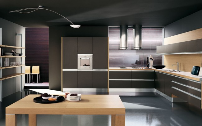 A Modular Kitchen that is Sleek and Stylish
