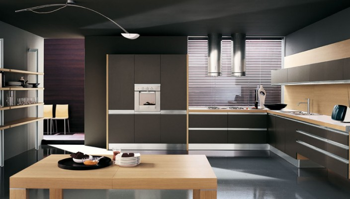 Great A Modular Kitchen That Is Sleek And Stylish