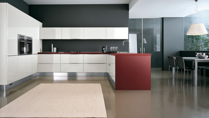 Choose best shades of three colors for your kitchen