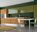 Match your kitchen with nature surrounding your home