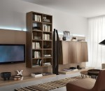 Light brown living room