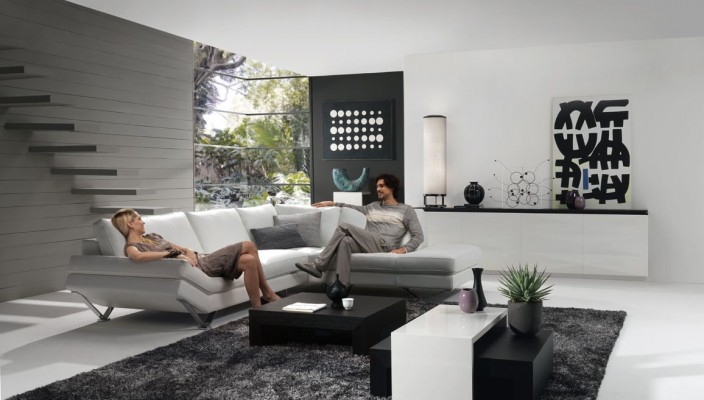 40 Grey Living Rooms That Help Your Lounge Look: Interior Exterior Plan
