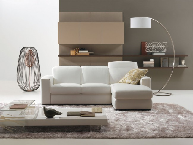 Sophisticated and stylish living room
