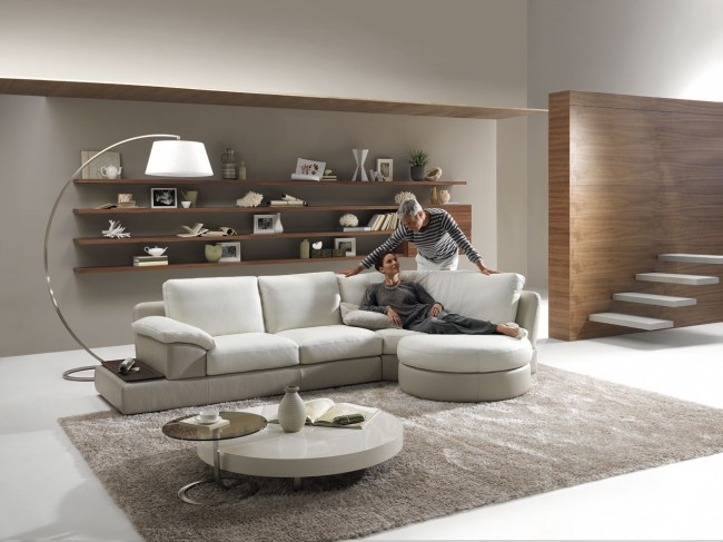 Use modular sofa and be able to add or remove its pieces