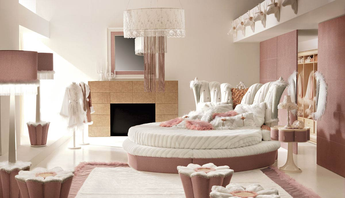 interior exterior plan pink teenage bedroom